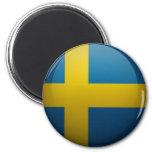 Bandera de Suecia Imán De Frigorífico