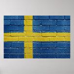 Bandera de Suecia Impresiones