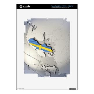 Bandera de Suecia iPad 3 Skin
