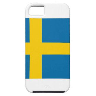 Bandera de Suecia iPhone 5 Carcasa
