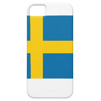 Bandera de Suecia iPhone 5 Fundas