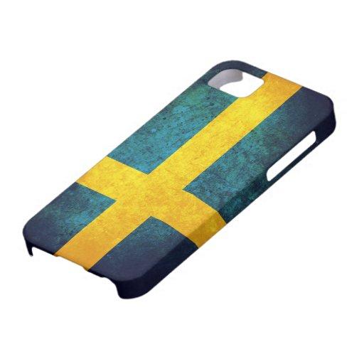 Bandera de Suecia iPhone 5 Protector