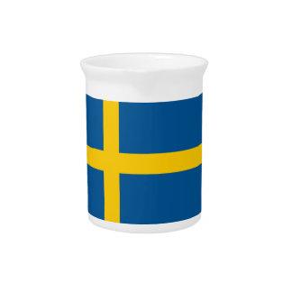 Bandera de Suecia Jarron