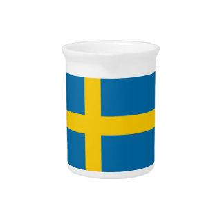 Bandera de Suecia Jarrones