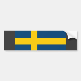 Bandera de Suecia Pegatina Para Auto