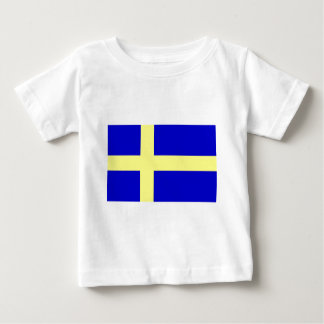 Bandera de Suecia Playeras