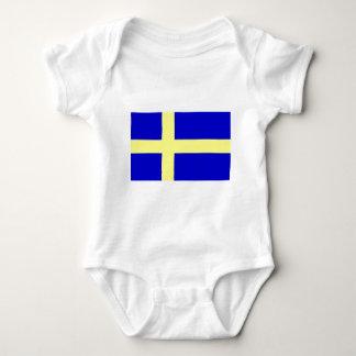 Bandera de Suecia Polera