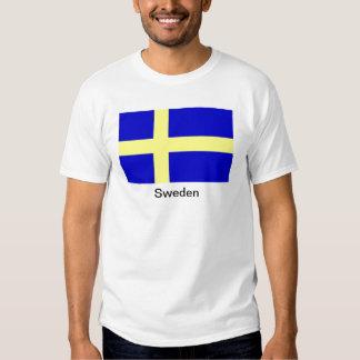 Bandera de Suecia Poleras