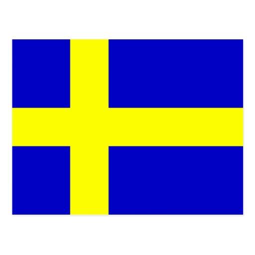 Bandera de Suecia Postal