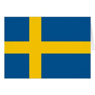 Bandera de Suecia Felicitaciones