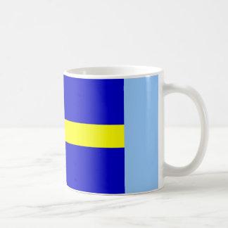 Bandera de Suecia Taza Clásica