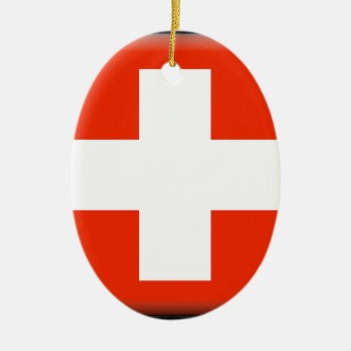 Bandera de Suiza Adorno