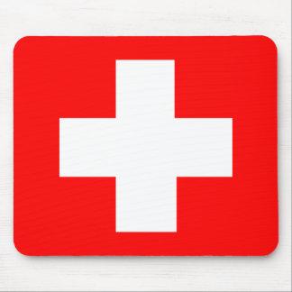 Bandera de Suiza Alfombrilla De Ratones