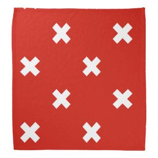 Bandera de Suiza Bandana