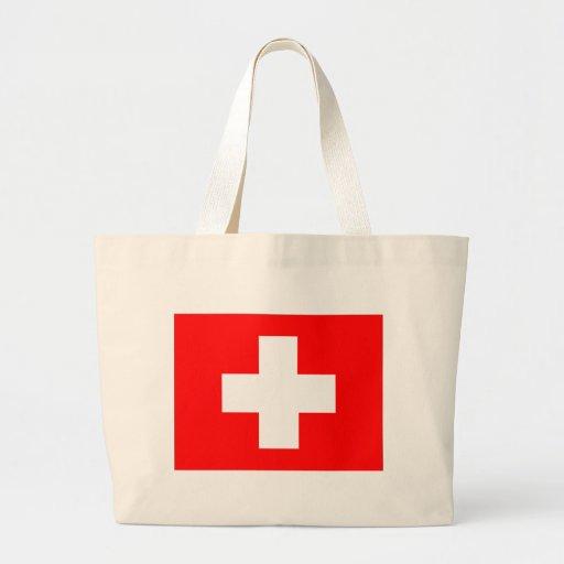 Bandera de Suiza Bolsas De Mano