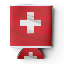 Bandera de Suiza Can Cooler