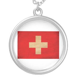 Bandera de Suiza Colgante Redondo