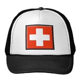 Bandera de Suiza Gorros
