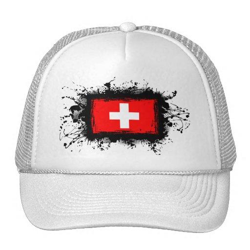 Bandera de Suiza Gorras