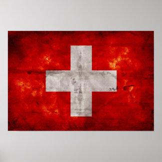 Bandera de Suiza Impresiones