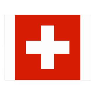 Bandera de Suiza Postal