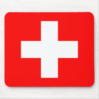 Bandera de Suiza Mouse Pads