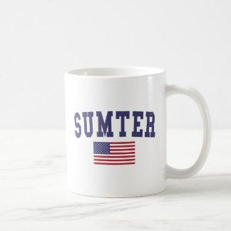 Bandera de Sumter los E.E.U.U. Taza