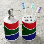 Bandera de Suráfrica Accesorios De Baño