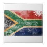 Bandera de Suráfrica Azulejos