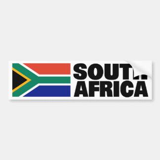 Bandera de Suráfrica Etiqueta De Parachoque