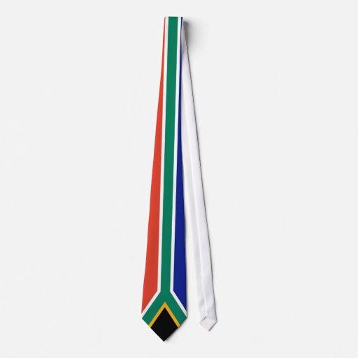 Bandera de Suráfrica Corbata Personalizada