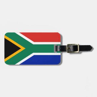 Bandera de Suráfrica Etiqueta De Equipaje