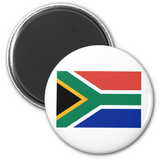 Bandera de Suráfrica Imán Redondo 5 Cm