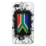 Bandera de Suráfrica iPhone 4/4S Carcasa