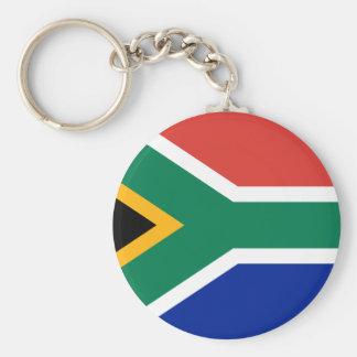 Bandera de Suráfrica Llavero Redondo Tipo Pin