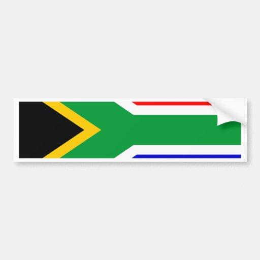Bandera de Suráfrica Pegatina Para Auto