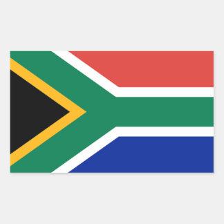 Bandera de Suráfrica Pegatina Rectangular