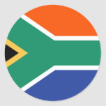 Bandera de Suráfrica Pegatinas Redondas