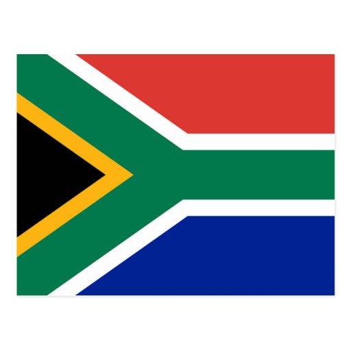 Bandera de Suráfrica Postales