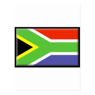 Bandera de Suráfrica Tarjeta Postal