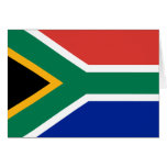 Bandera de Suráfrica Tarjetón