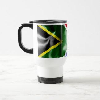 Bandera de Suráfrica Taza De Viaje De Acero Inoxidable