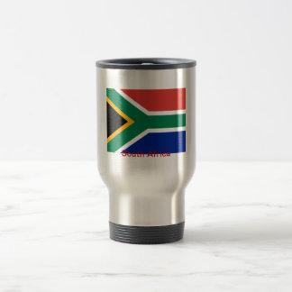 Bandera de Suráfrica Taza De Viaje
