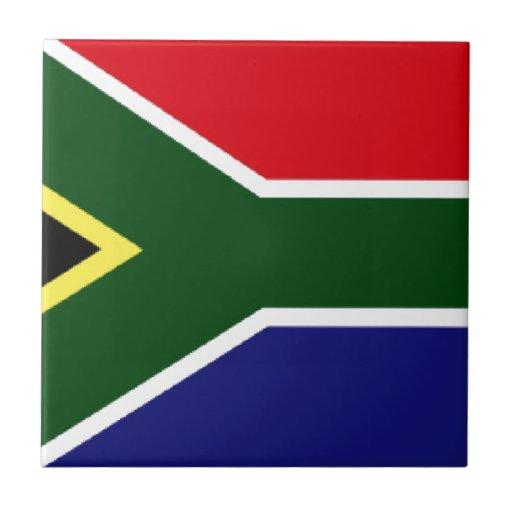 Bandera de Suráfrica Tejas