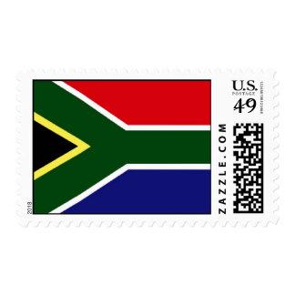 Bandera de Suráfrica Timbre Postal