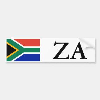 Bandera de Suráfrica y pegatina para el parachoque Pegatina Para Auto
