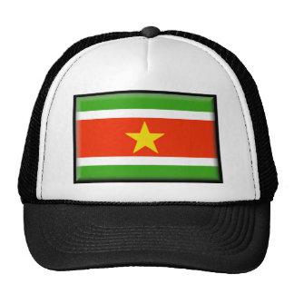 Bandera de Suriname Gorros Bordados
