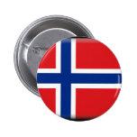 Bandera de Svalbard (Noruega) Pin