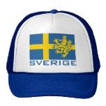 Bandera de Sverige Gorras De Camionero