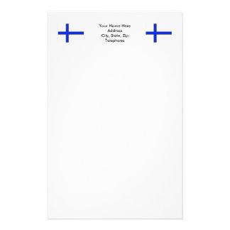 Bandera de Sverigefinska Papeleria De Diseño